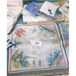COLLECTION OF 1940'S HANDKERCHIEFS