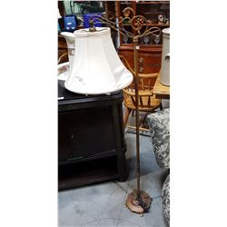 VINTAGE WROUGHT IRON BRIDGE LAMP