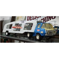VINTAGE TONKA MOTOR MOVER TOY TRUCK BLUE