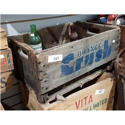 VINTAGE ORANGE CRUSH POP CRATE