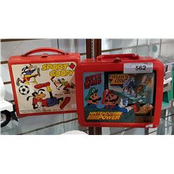 TWO COLLECTIBLE LUNCH KITS