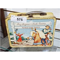 VINTAGE ROY ROGERS/DALE EVANS LUNCH KIT
