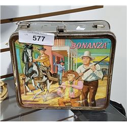 VINTAGE BONANZA METAL LUNCH KIT