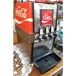 VINTAGE COCA COLA COUNTER TOP SODA MACHINE