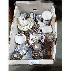 BOX LOT COLLECTIBLE CHINA ETC