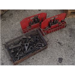 Lot of Misc Machine Tie Down Units