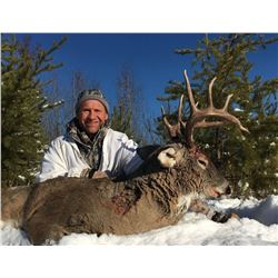 5 ½ Day  Whitetail Deer Hunt for 2 Hunters
