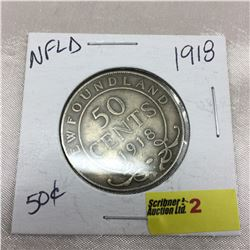 NFLD Fifty Cent 1918
