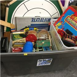 Tote Lot: Board Games, Outdoor Activities, Cards, etc