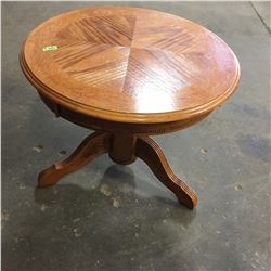 Small Round Pedestal Table