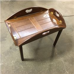 Tea Service Table (Removable Tray Top)