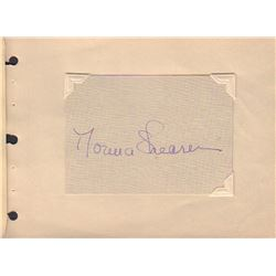 Norma Shearer Signed Card