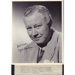 Edgar Buchanan Bride by Mistake Original Signed Photo