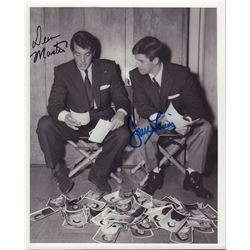 Dean Martin Jerry Lewis Signed 8x10 Photo