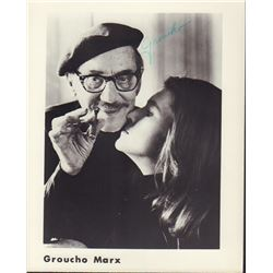 Groucho Marx Signed 8x10 Photo