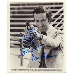 Don Adams Get Smart The Nude Bomb Signed Original 8x10 Promo Photo