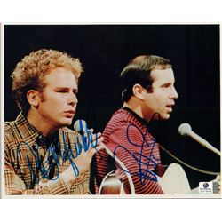 Simon and Garfunkel Signed 8x10 Photo Global GV719103
