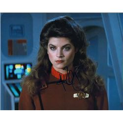 Kirstie Alley Star Trek Signed 8x10 Photo