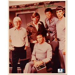 Gene Roddenberry Star Trek Signed 8x10 Photo Global GV866549