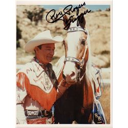 Roy Rogers Signed 8x10 Photo