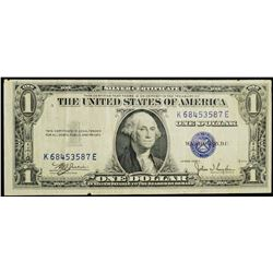 1935 series - USA $1 Silver Certificate