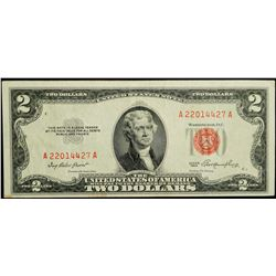 1953 Series - USA $2 Dollar Banknote
