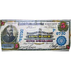 National Bank Note Painting