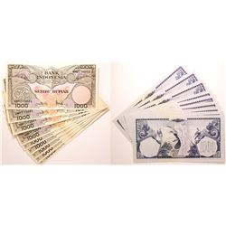 Indonesia Paper Currency