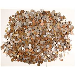 Foreign Coins. (About 21 lbs.)