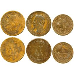 Three Foreign Art Coins