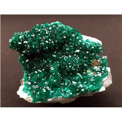 Dioptase and Shattuckite from Namibia
