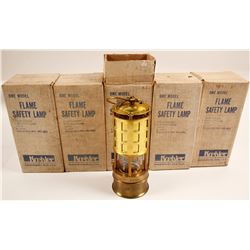 Koelher Series 289 NIB Flame Safety Lamps (5)