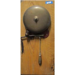 Mounted Mine Signal Bell