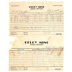 Kelly Mine Assay Reports (2)