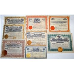 Likely Arizona Mining Stock Certificates