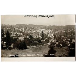 Grass Valley Postcard from Pennsylvania Mine