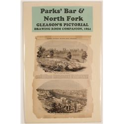 Pictorial of Parks' Bar & North Fork, American River