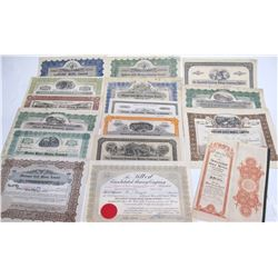 Earlier Ontario Mining Stock Certificate Collection