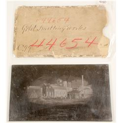 Gold Smelting Works Printers Plate