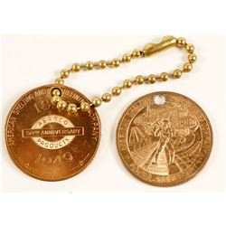 ASARCO 50th Anniversary Medals (2)