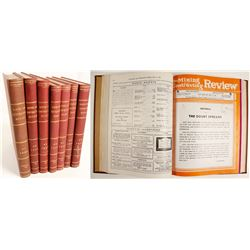 Mining and Contracting Review (7 Volumes)