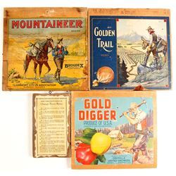 Mining Related Wood Wall Hangings