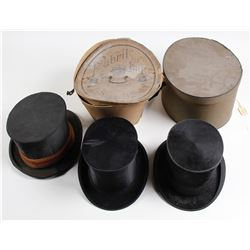 Classic Folding Top Hats