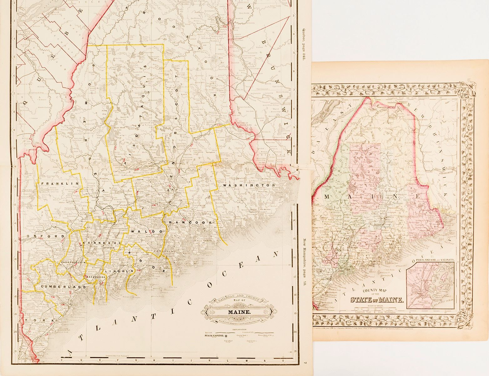 Maps Of Maine Counties