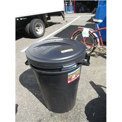 """2 New 32"""" Trash Cans"""