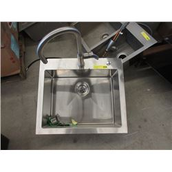 Stainless Steel Sink With Tap