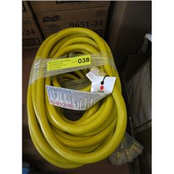 New 50 Foot Heavy Duty Multi Outlet Extension Cord