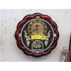 "12"" Diameter Wall Clock - Keeping Time"