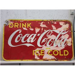 1948 Coca-Cola Tin Sign
