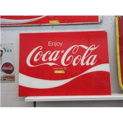 Acrylic Coca-Cola Country Store Sign